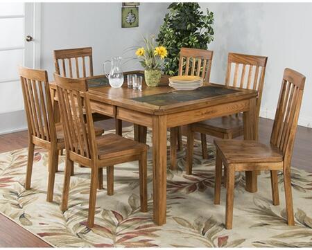 Sunny Designs 1273RODT6C Sedona Dining Room Sets