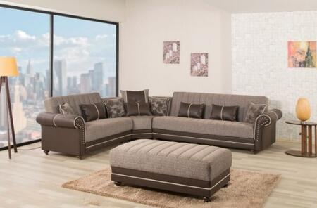 ROYAL HOME SECTIONAL   QUANTRO BROWN PLAIN1 600x600
