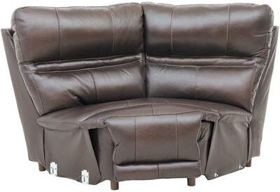Catnapper 4188128309308309 Bergamo Series Leather with Metal Frame in Chocolate