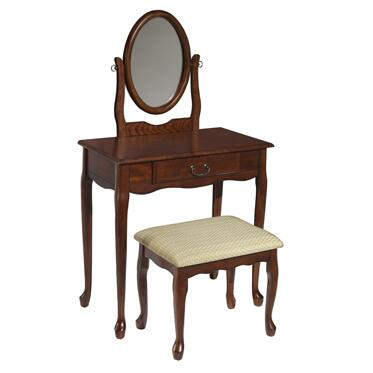 Powell 60XXX0 Woodland Vanity, Mirror & Bench