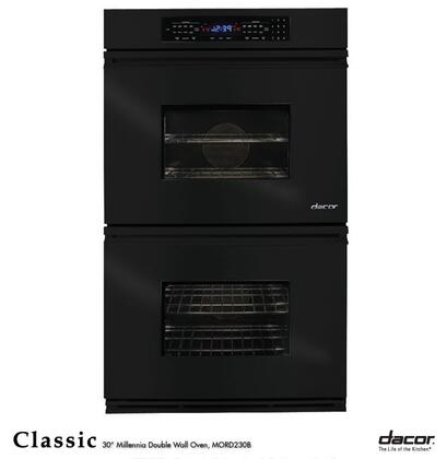 "Dacor Classic MORS227 27"" Double Electric Wall Oven with 3.4 cu. ft. Convection Upper Oven, Self-Cleaning, 6 Cooking Modes, Proofing and Electronic Touch Controls"
