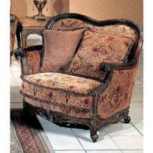 Yuan Tai NA2033C Natalie Series Fabric Chair with Wood Frame
