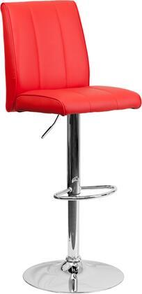 Flash Furniture CH122090REDGG Residential Vinyl Upholstered Bar Stool