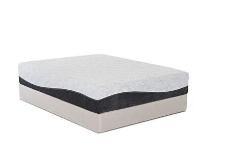 "Enso Calle CALLE 12"" Hybrid Mattress with Removable Tencel Cover, 2"" PureGel Plus Gel Memory Foam and 7"" Comfort Support Core"