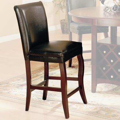 Coaster 100505 Newhouse Series Residential Faux Leather Upholstered Bar Stool