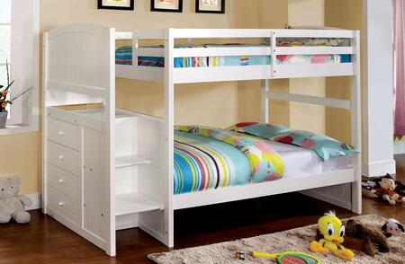 Furniture of America CMBK922TBED Appenzell Series  Twin Size Bunk Bed