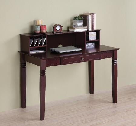 Walker Edison DW48S30DHWB Writing  Wood Desk