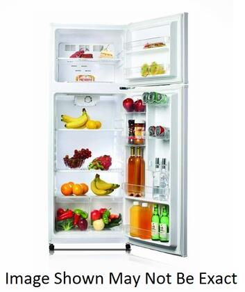 Golden GRD12GLS Freestanding Top Freezer Refrigerator with 12.0 cu. ft. Total Capacity