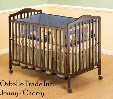 Orbelle 370X Jenny 3-in-1 Convertible Crib in