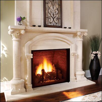 Majestic KHLDV500PV  Direct Vent Liquid Propane Fireplace