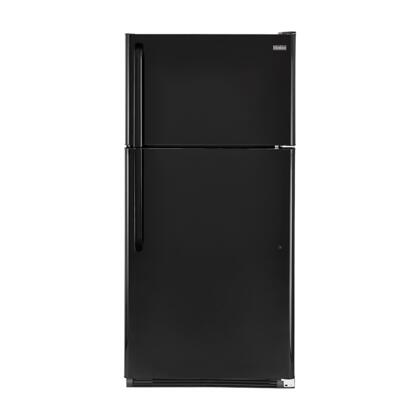 "Haier HRT21R2AP 32"" Freestanding Top Freezer Refrigerator with 20.6 cu. ft. Total Capacity, Clear Humidity Controlled Crispers, Clear Gallon Bin, and Adjustable Spill Proof Glass Shelves:"