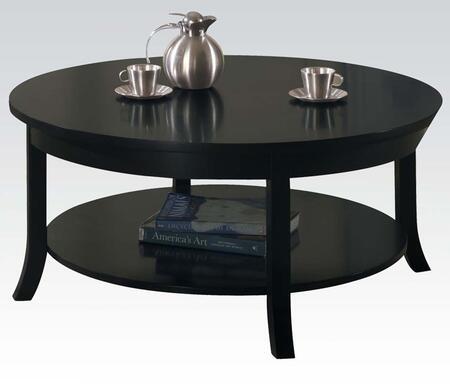 Acme Furniture 08000B Black Contemporary Table