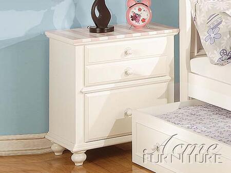 Acme Furniture 11039 Zoe Series Rectangular Wood Night Stand