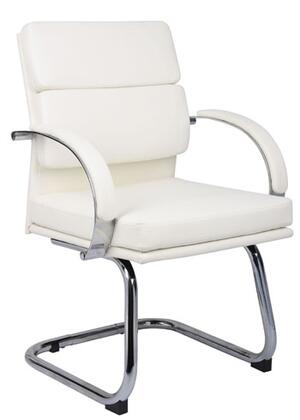 "Boss B9409WT 24"" Contemporary Office Chair"
