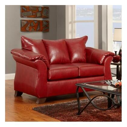 Chelsea Home Furniture 196702SR Armstrong Series  Stationary with Wood Frame Loveseat