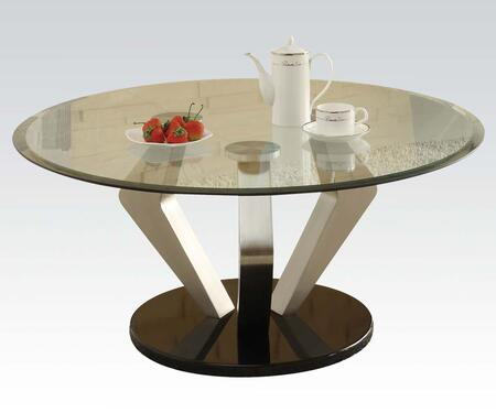 Acme Furniture 80000 Chrome Contemporary Table