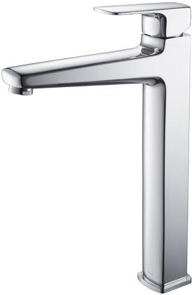 Kraus KEF15500 Exquisite Series Virtus Bathroom Vessel Lever Faucet with Solid Brass Construction and Kerox Ceramic Cartridge