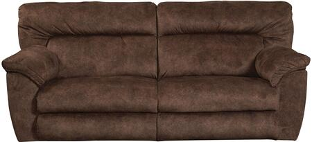 """Catnapper Nichols Collection 1671- 90"""" Lay Flat Reclining Sofa with Fabric Upholstery, Pillow Top Arms and Split Back in"""
