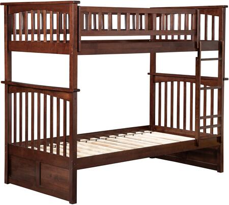 Atlantic Furniture AB55104  Twin Size Bunk Bed