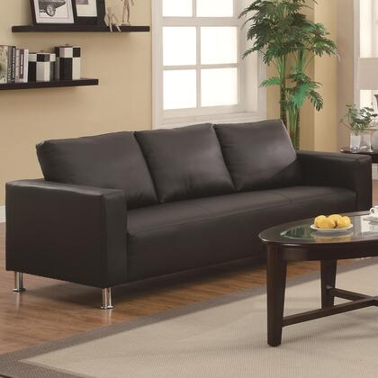 Coaster 503131 Cooper Series Stationary Faux Leather Sofa