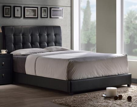 Hillsdale Furniture 1281BKR Lusso Series  King Size Panel Bed