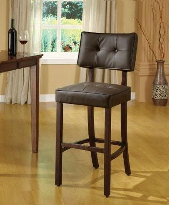 Acme Furniture 10082 Ezrela Series Fabric Upholstered Bar Stool
