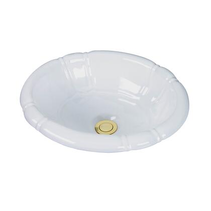 Barclay 4709WH White Sink