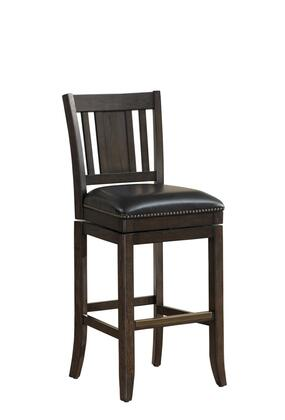 American Heritage 111148 Residential Bonded Leather Upholstered Bar Stool
