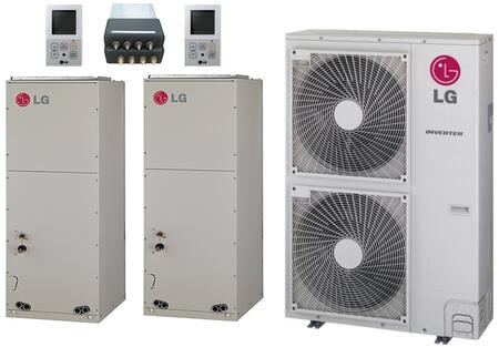 LG 705374 Dual-Zone Mini Split Air Conditioners