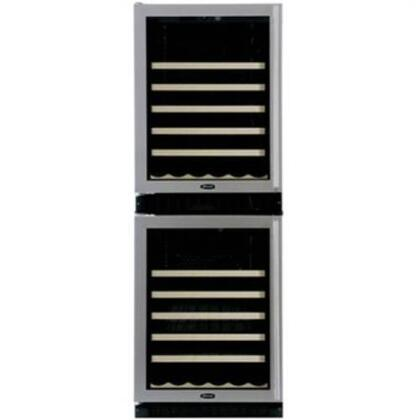 "Marvel 66WCMBBGR 24.125"" Freestanding Wine Cooler, in Black"