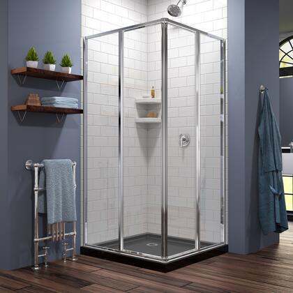 DreamLine Cornerview Shower Enclosure 28 BlackBase 01