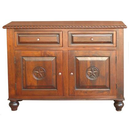 Home Trends & Design FTRSB57RLP Freestanding Wood 2 Drawers Cabinet