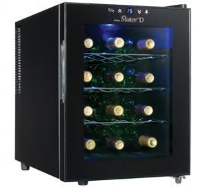 "Danby DWC1233BLSC 13.38"" Freestanding Wine Cooler"