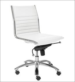 """Euro Style 01266BRN 21"""" Contemporary Office Chair"""