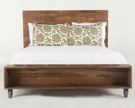 Home Trends & Design WAT16 Artezia Series  King Size Panel Bed