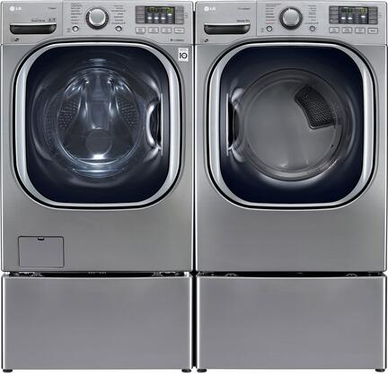 LG WM4370HVAGDPEDPAIR2 Washer and Dryer Combos