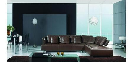 VIG Furniture VGBNBO3878  Sofa and Chaise Leather Sofa