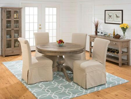 Jofran 94166TBKTSET4U Slater Mill Dining Room Sets
