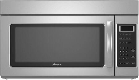 Amana AMV2175CS 1.7 cu. ft. Capacity Over the Range Microwave Oven