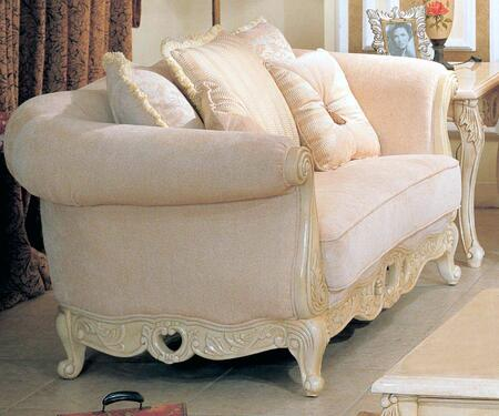 Yuan Tai WV8000L Waverly Series Fabric Loveseat with Wood Frame Loveseat