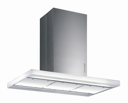 "Futuro Futuro ISxLUXOR x"" Luxor Series Range Hood with 940 CFM, 4-Speed Electronic Controls, Delayed Shut-Off, Filter Cleaning Reminder, and in Stainless Steel"