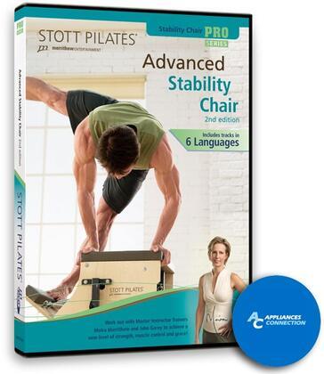 Merrithew DV8116 Stability Chair DVD, 2nd Edition