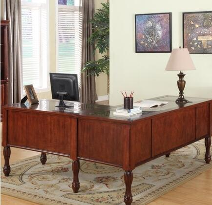 Legends Furniture ZJM6007 Monte Cristo Series  Desk