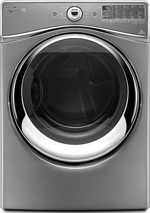 Whirlpool WED96HEAC Duet Series Electric Dryer, in Chrome Shadow