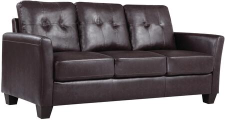 Glory Furniture G575S  Stationary Faux Leather Sofa