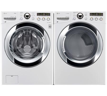 LG WM3250HWAPAIR2 Washer and Dryer Combos