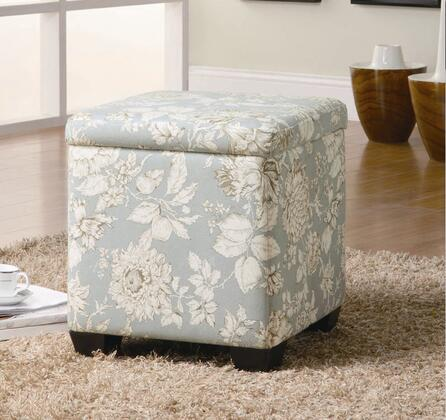 Coaster 501088 Oak Valley Series Traditional Fabric Ottoman
