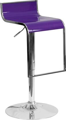 Flash Furniture CHTC31027PPURGG Residential Not Upholstered Bar Stool