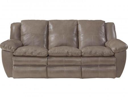 Catnapper 64191128318308318 Aria Series  Leather Sofa
