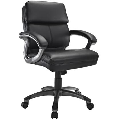 """Modway EEI719BLK 26"""" Adjustable Contemporary Office Chair"""